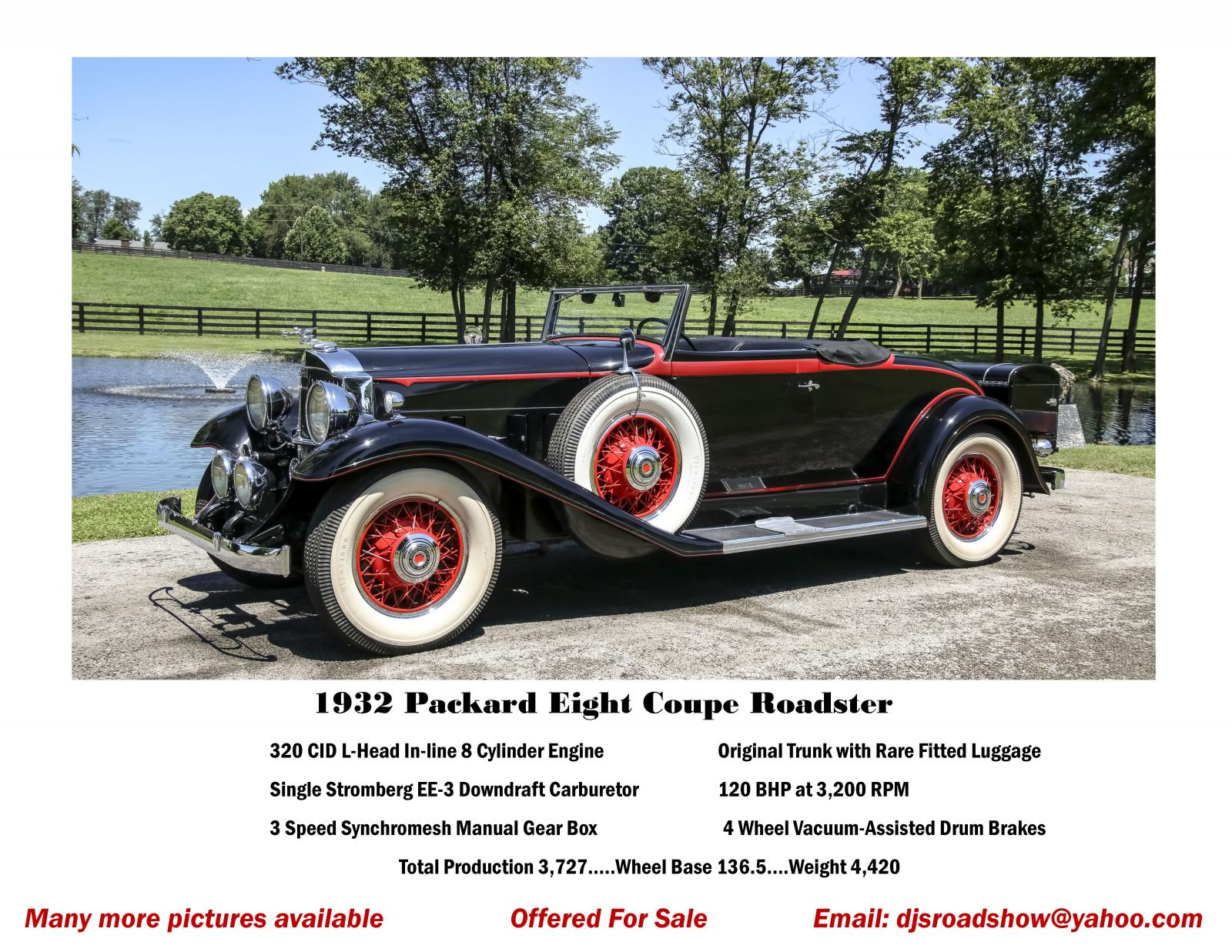 This automobile is in wonderful condition with rare fitted lugauge.