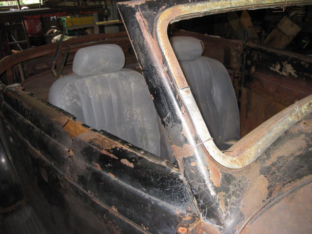 1935 Plymouth 2 door Rumbleseat Convertible FOR SALE