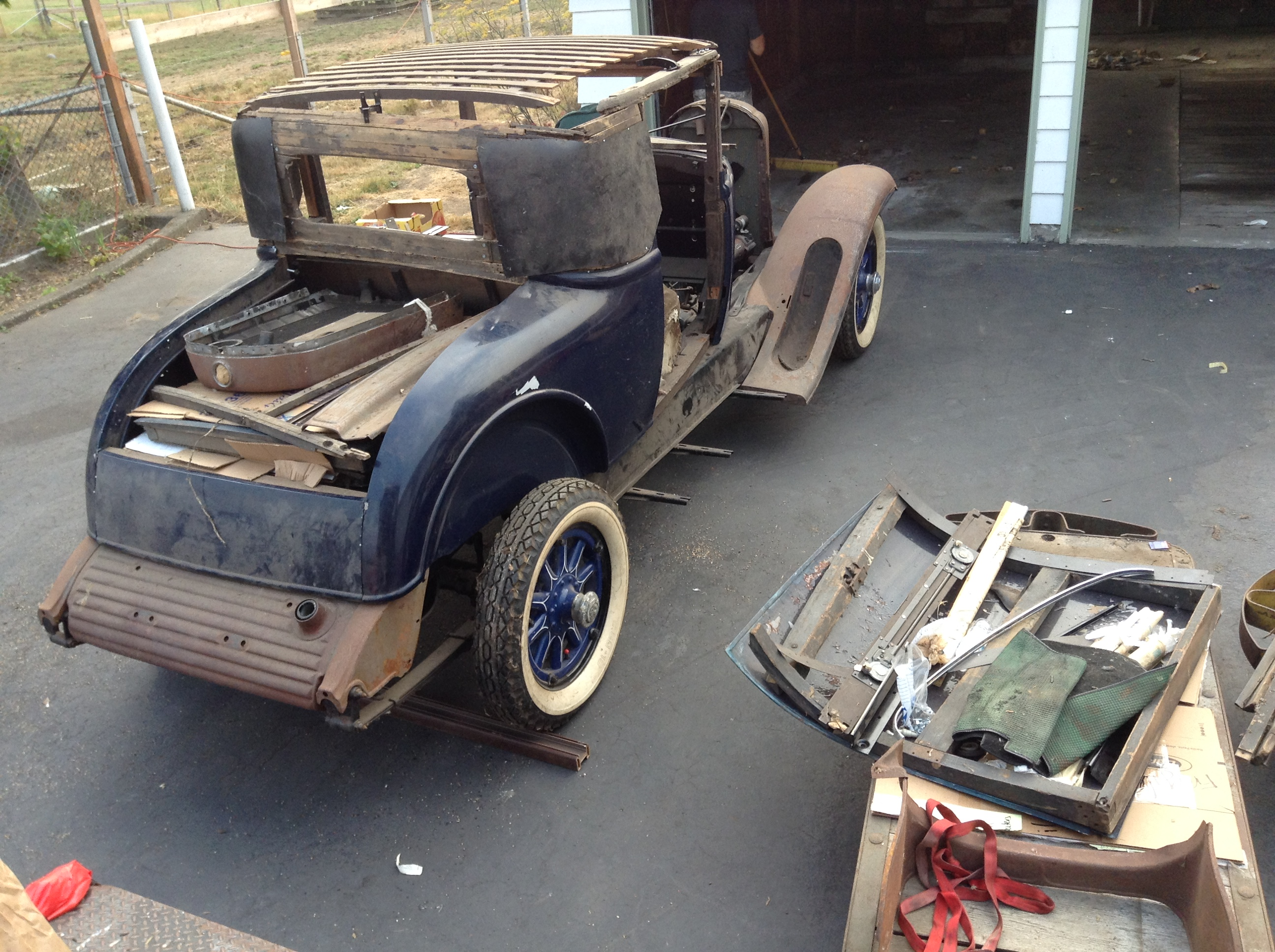 Wood Kits and Pieces for Early Chevy Cars, Other GM's