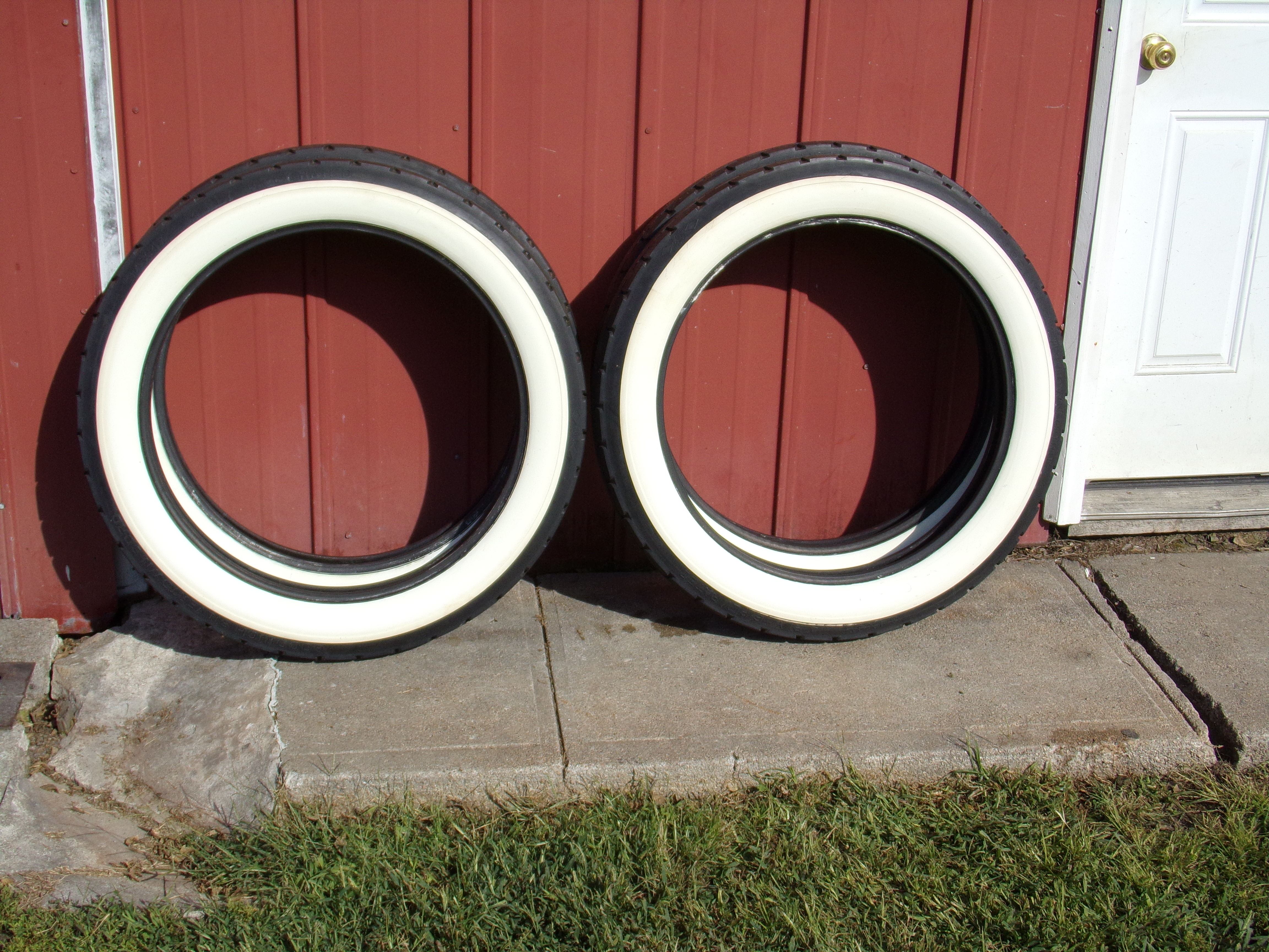 Set of new 34 X 4 1/2 WW tires - Cars For Sale - Antique Automobile ...