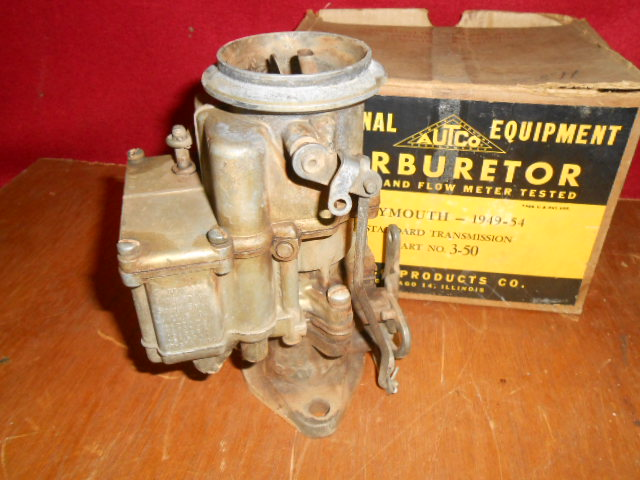 Stromberg carburetor- 49-54 Plymouth SOLD - Cars For Sale
