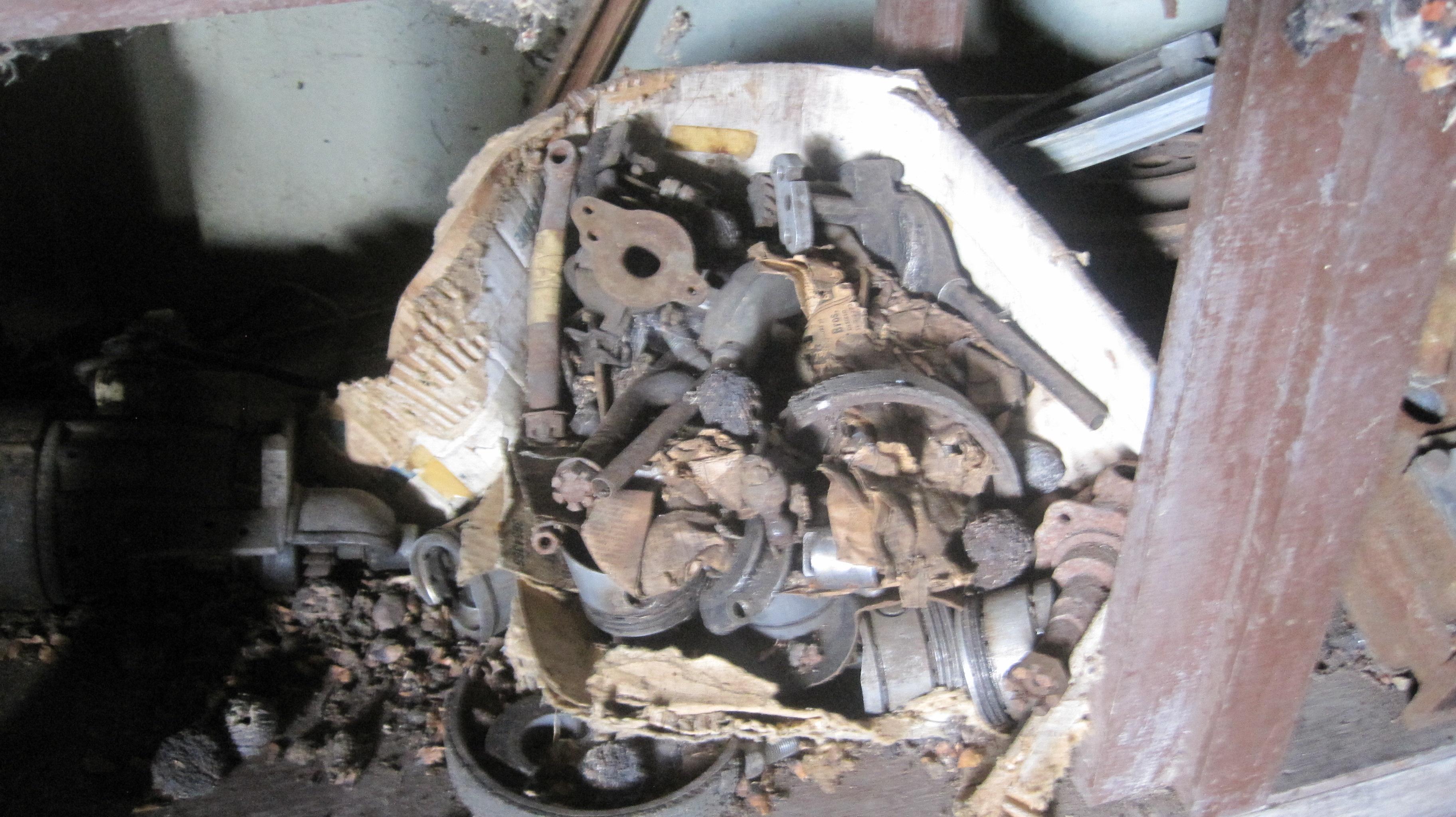 48/49 crosley engine parts driveshaft - Cars For Sale - Antique ...