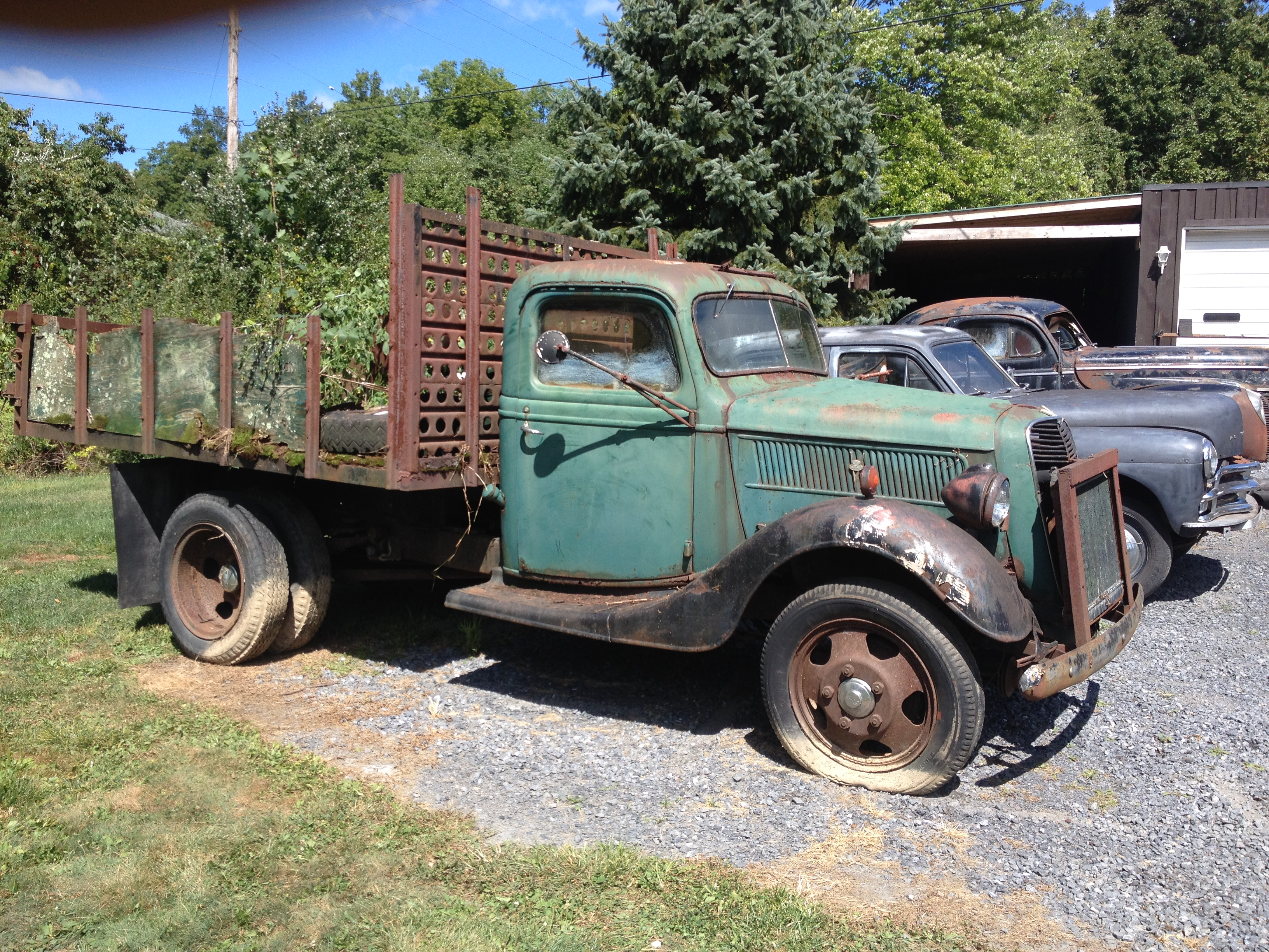 FS-1937 ford 1.5ton - Cars For Sale - Antique Automobile Club of ...