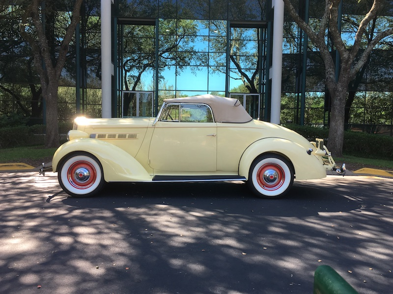 For Sale - 1937 Packard Six (115C) Convertible Coupe SOLD