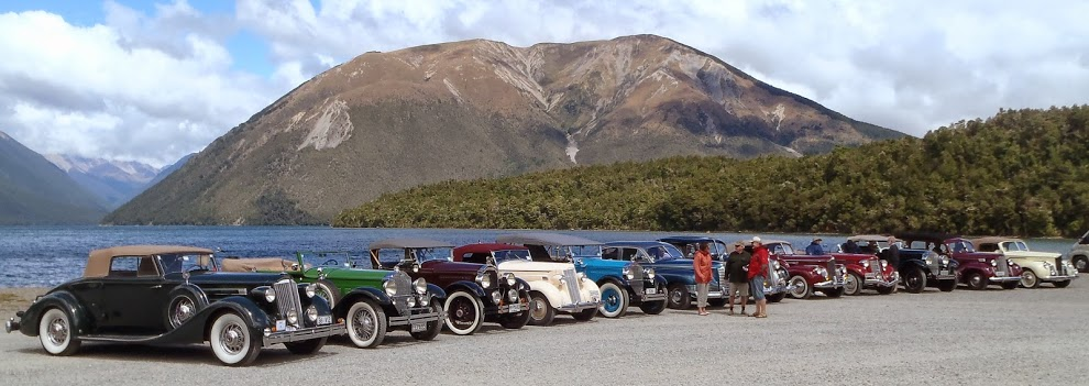 Packards at Lake Rotoiti 2014.JPG