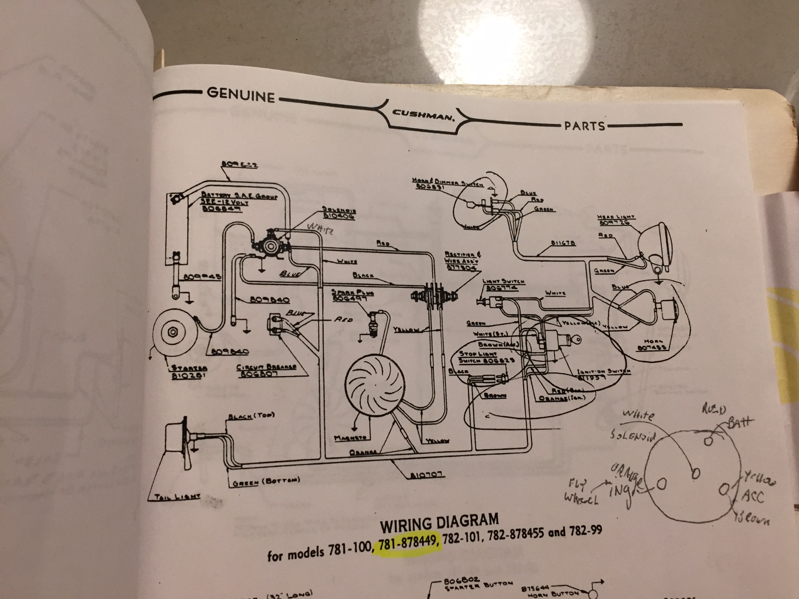 Cushman Truckster Wiring Diagram The Types Of 1979 Ezgo Golf Cart Gas Engine 59 Reality Help Technical Rh Forums Aaca Org 834218