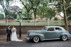 1941 Roadmaster on Benefit Street near RISD, the college attended by my son and his new wife