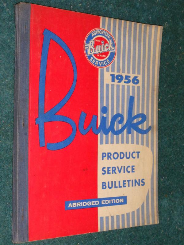 Buick 1956 Product Service Bulletin..JPG