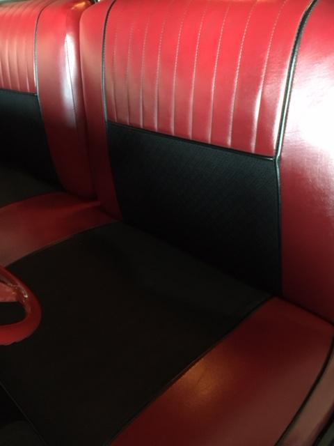Upholstery Seat Panel Measurements 1955 Hardtop Buick Post War