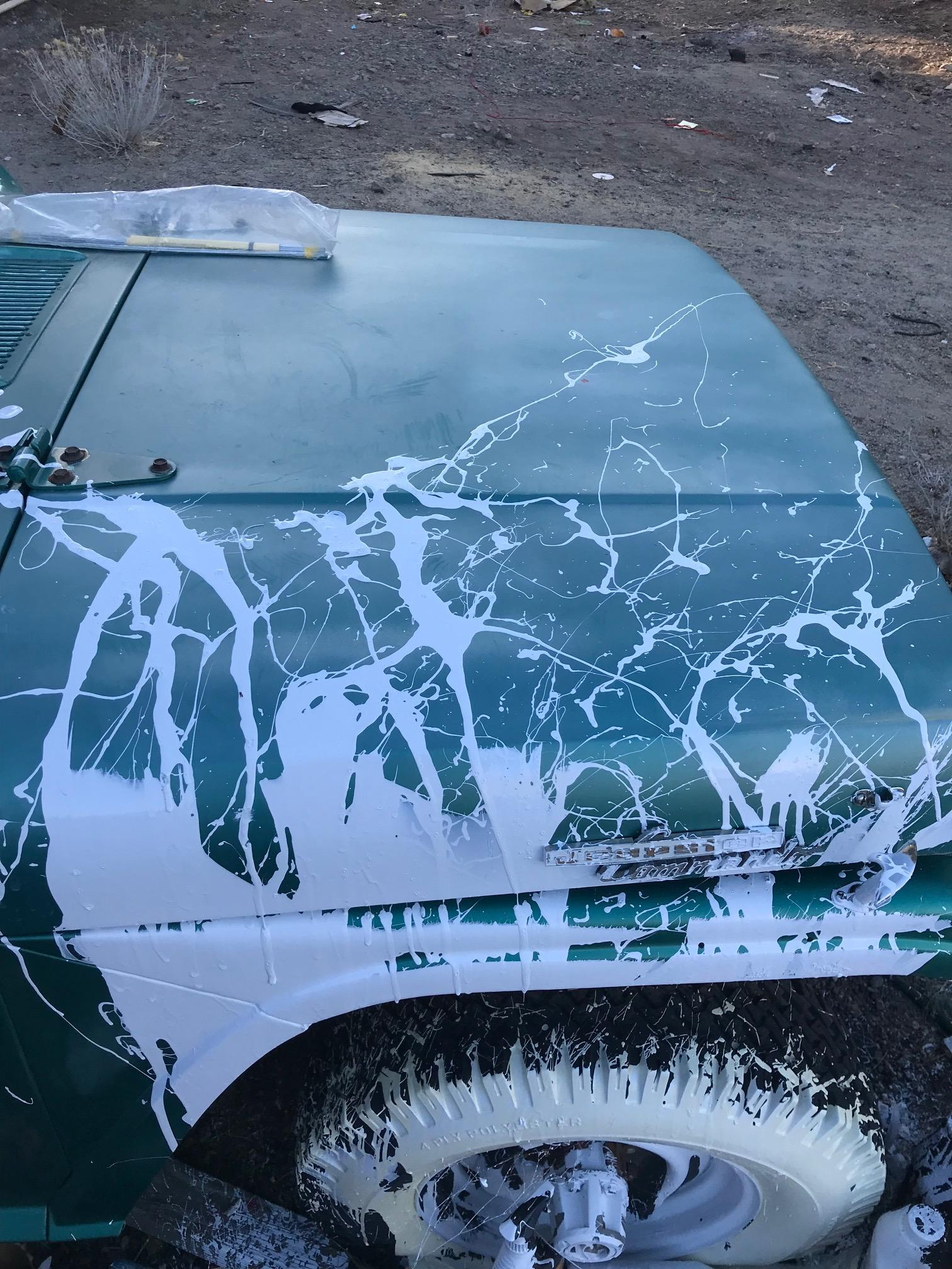 How to Remove Paint Spilled onto Car - Technical - Antique