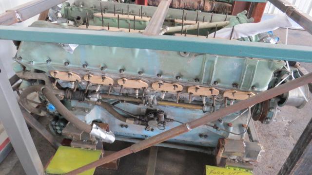Rolls Royce Meteor V12 Merlin Spitfire Engine Parts For