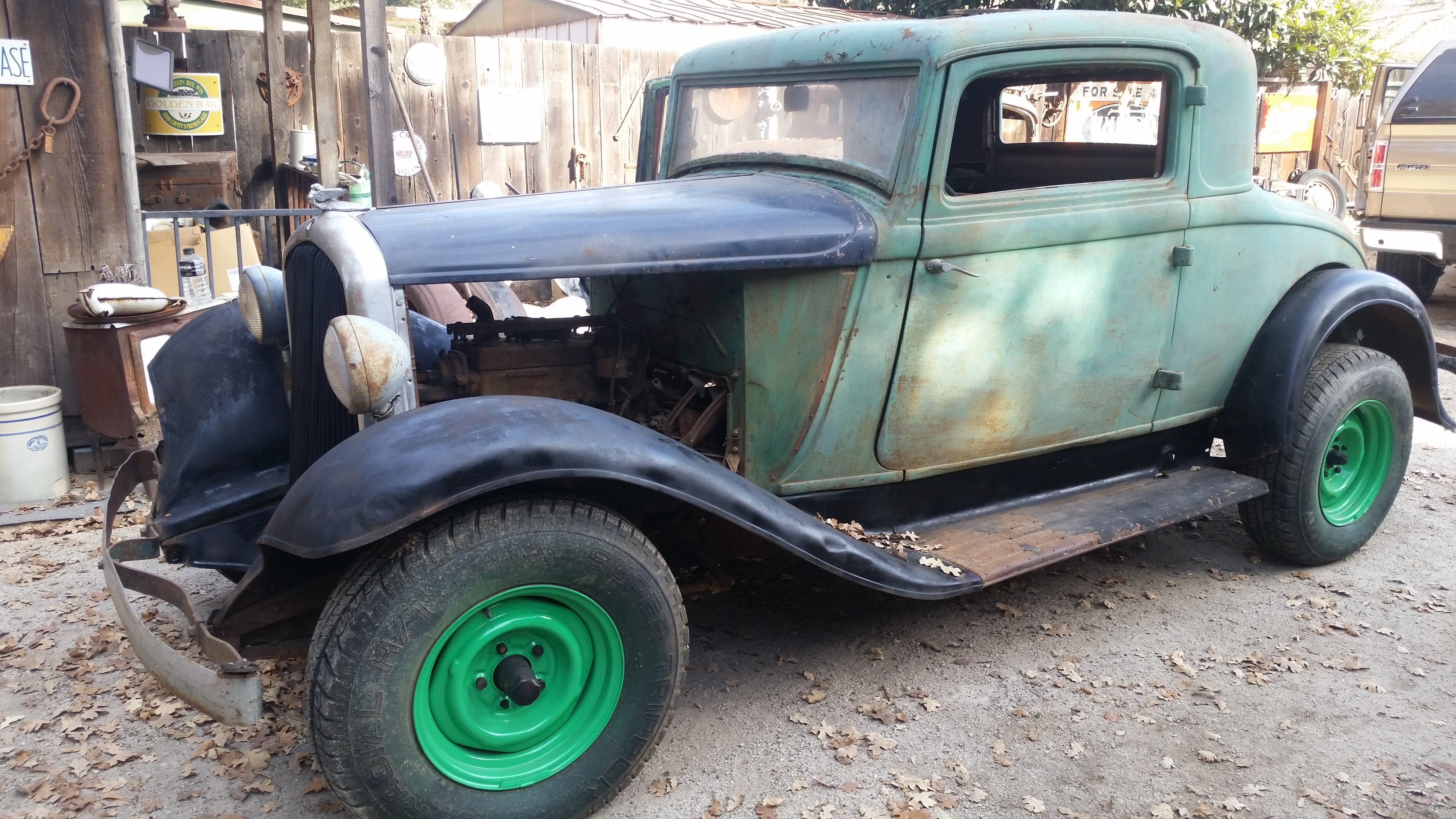 1932 Plymouth 3 window coupe and parts - Cars For Sale - Antique ...