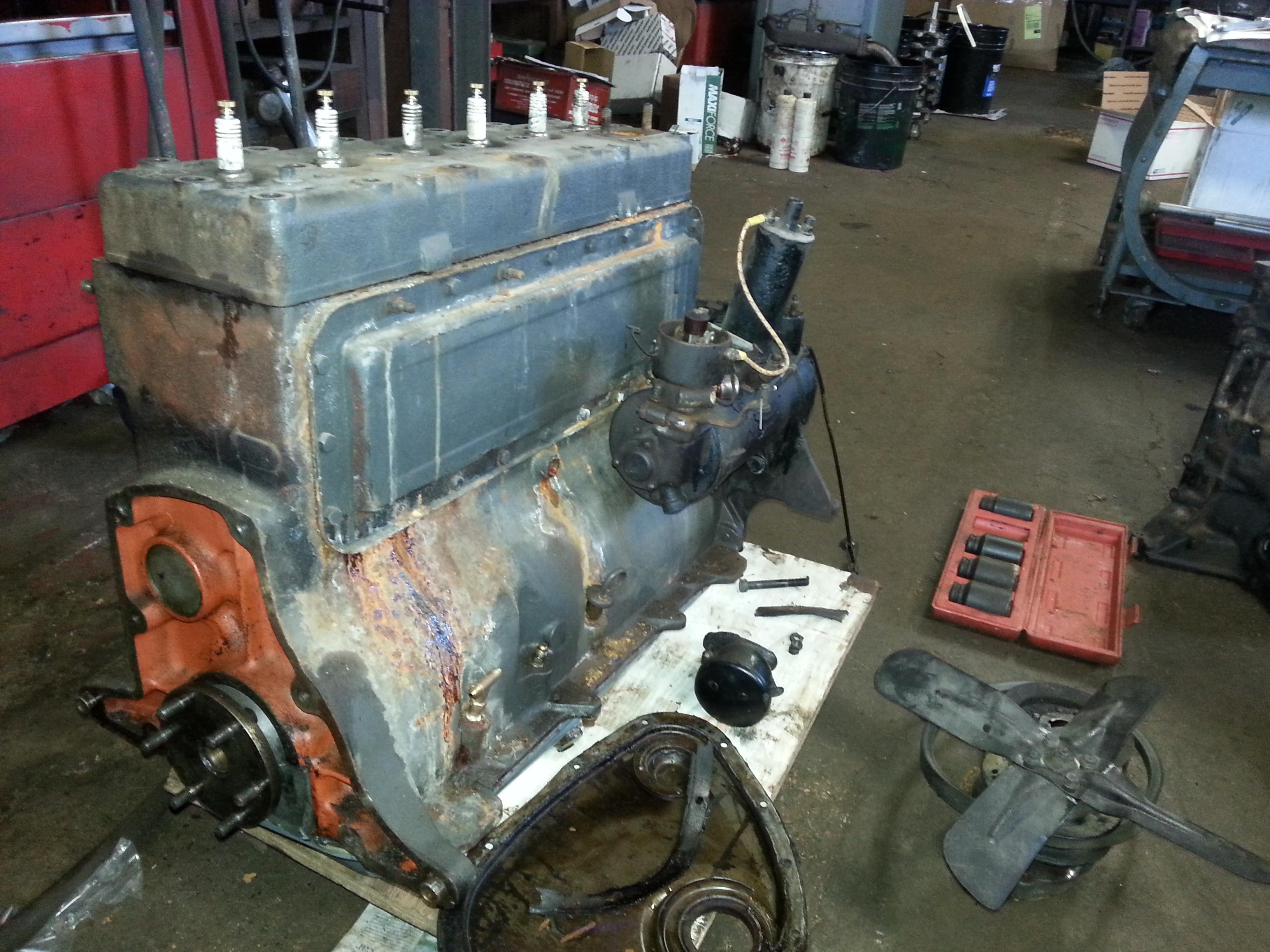 ontario in club diesel Vintage engine