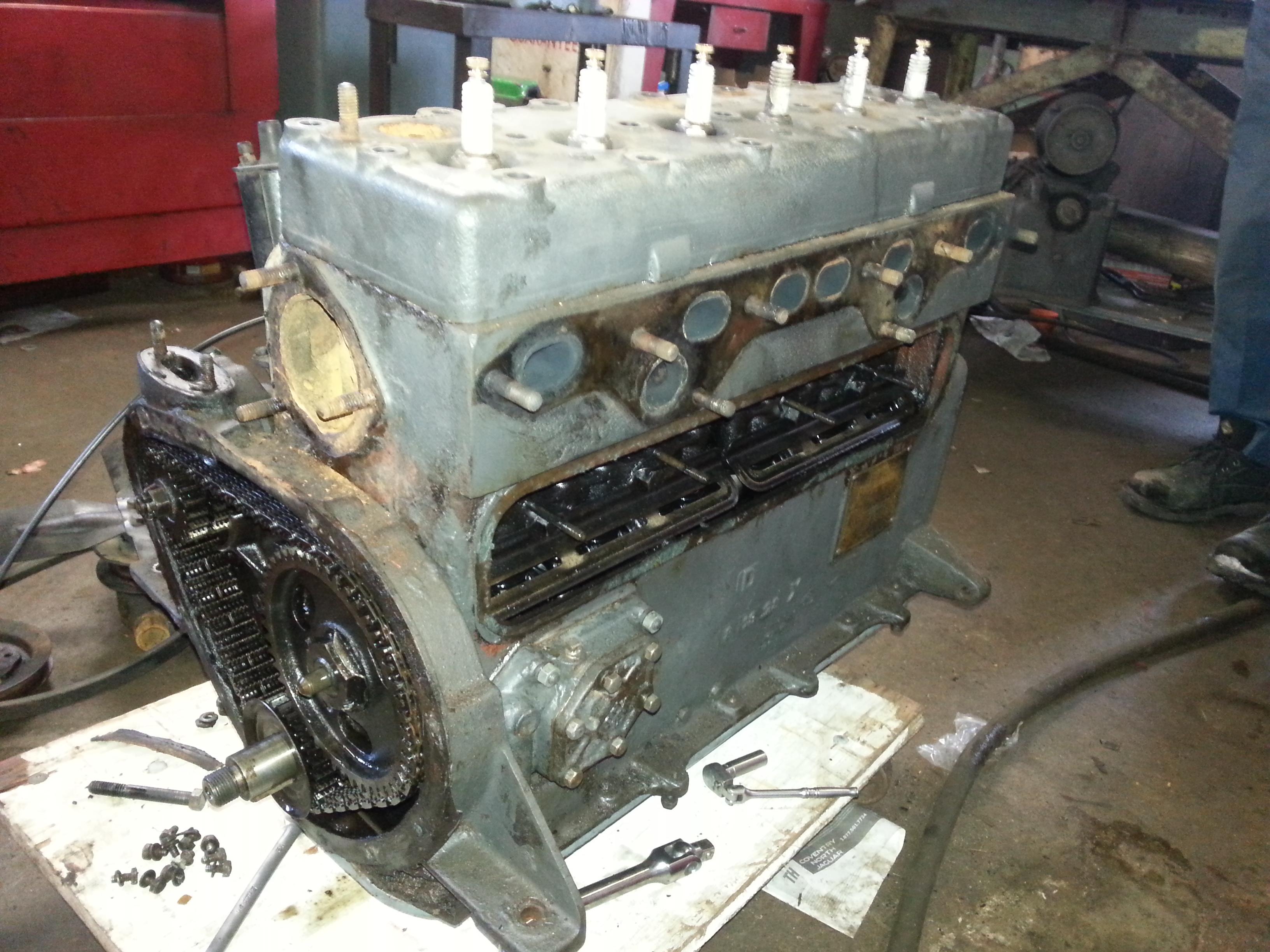 in Vintage club ontario engine diesel