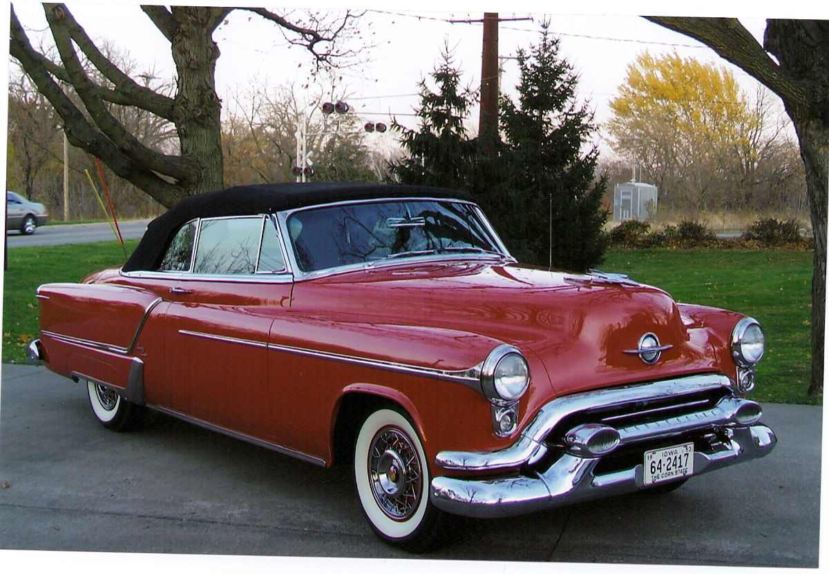 53 Olds 98 convert FS - Cars For Sale - Antique Automobile Club of ...