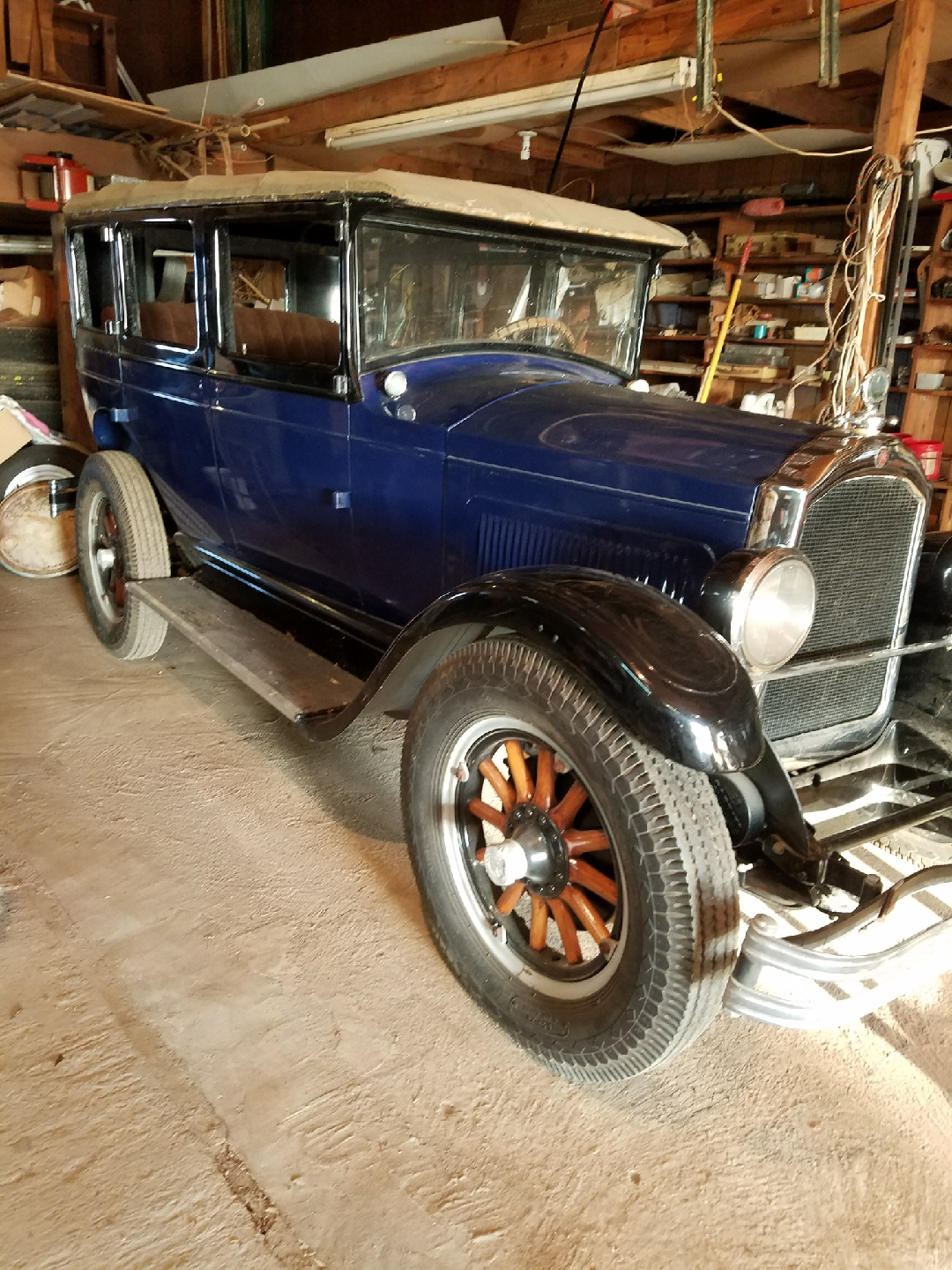 1926 Willys Touring Car Value - Cars For Sale - Antique Automobile ...
