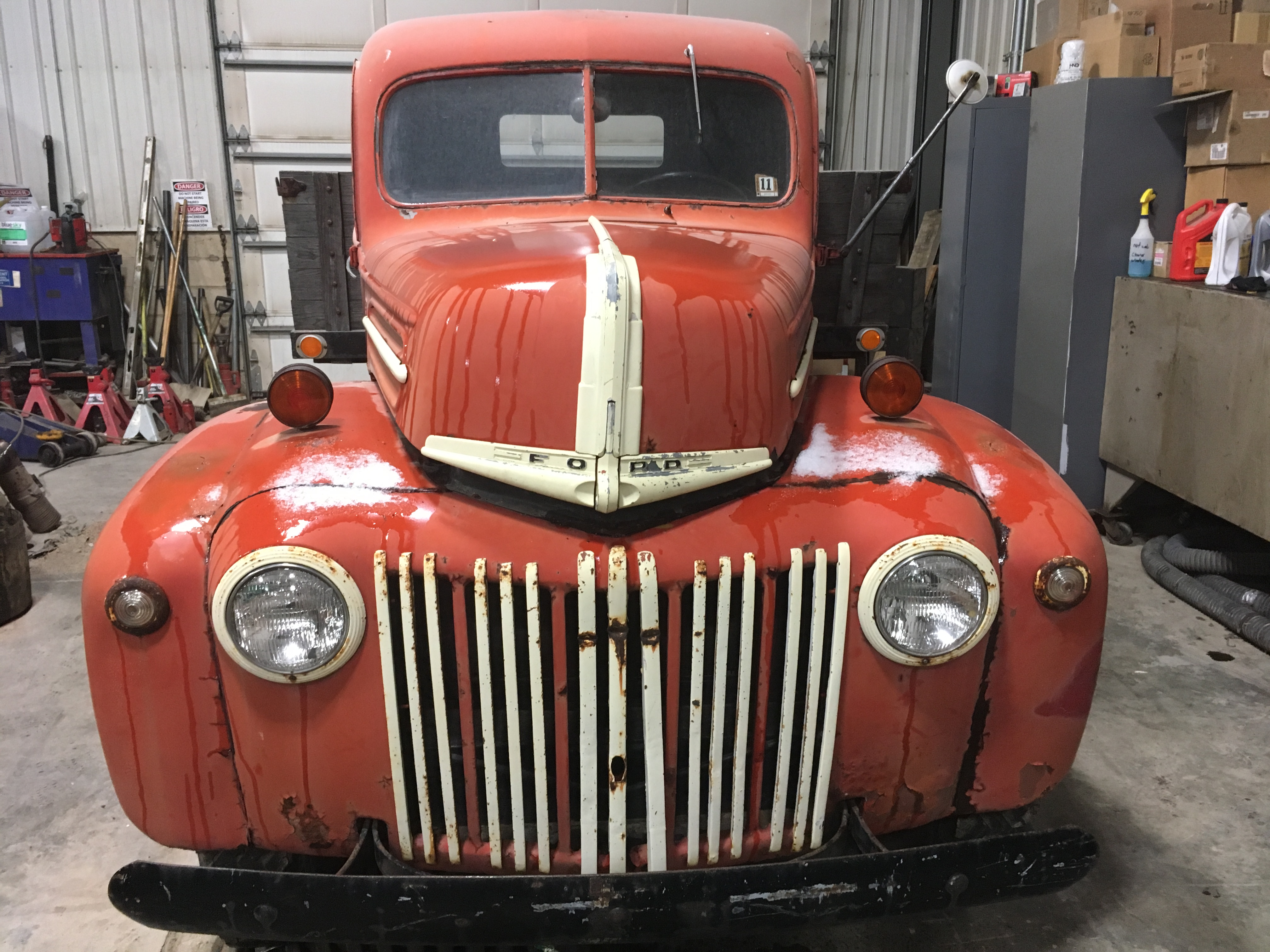 1944 Ford 1.5 ton VIN/Restoration - General Discussion - Antique ...