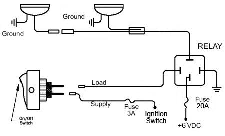 6v Fog Light Wiring Technical, Wiring Diagram For Fog Lights
