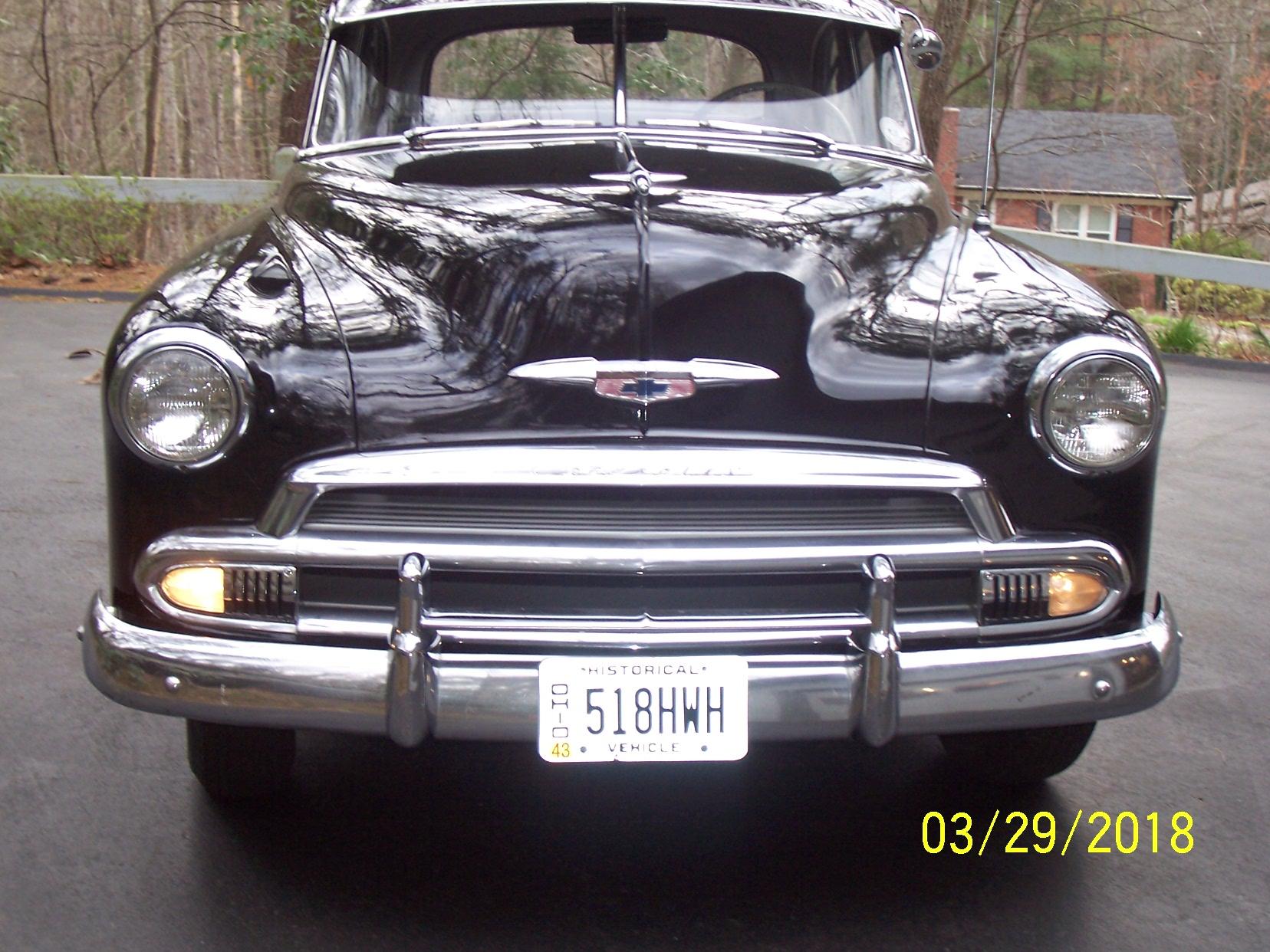 1951 Chevrolet Styleline Deluxe 2 Door Sedan Cars For Sale Chevy 104 5621