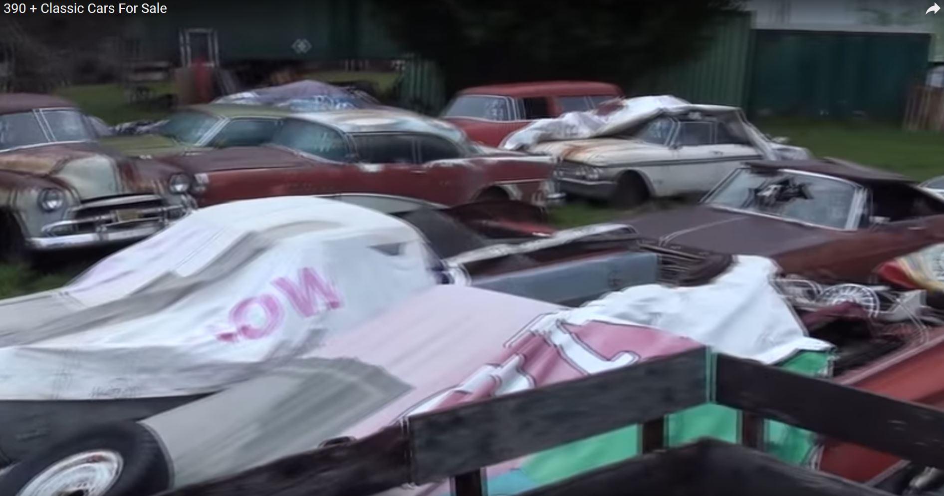 390 Car Collection plus parts, Medford Oregon area - Cars