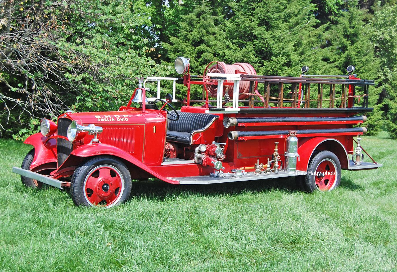 BMOP Fire Co. OH     1931 Chevrolet/General Engine