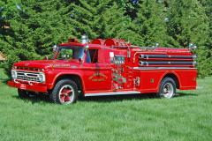 College Corner IN    1966 Ford/Howe Pumper