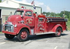 Crescent Springs KY     1955 GMC/Ahrens-Fox Pumper