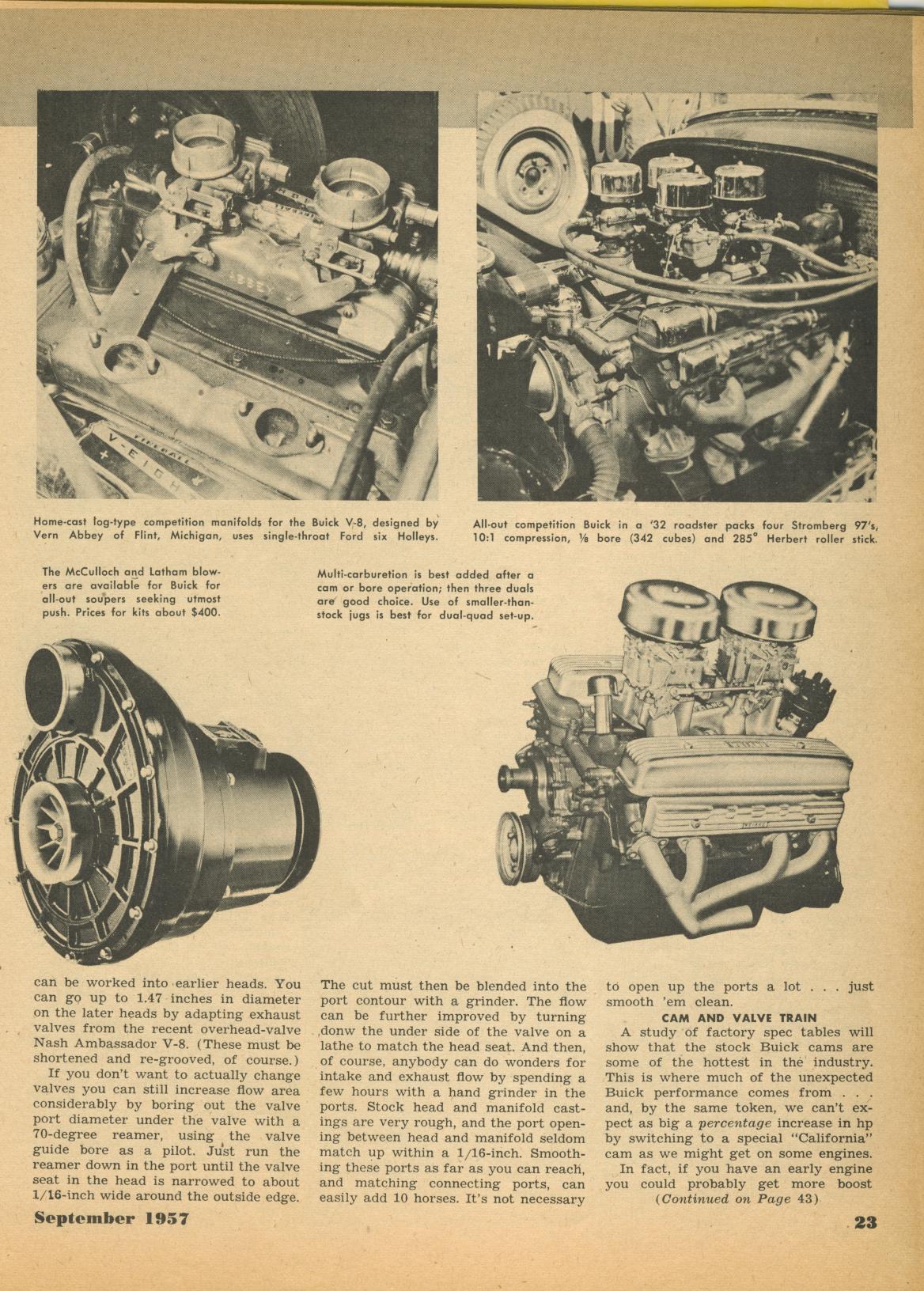 322 Nailhead boost - Buick - Modified - Antique Automobile