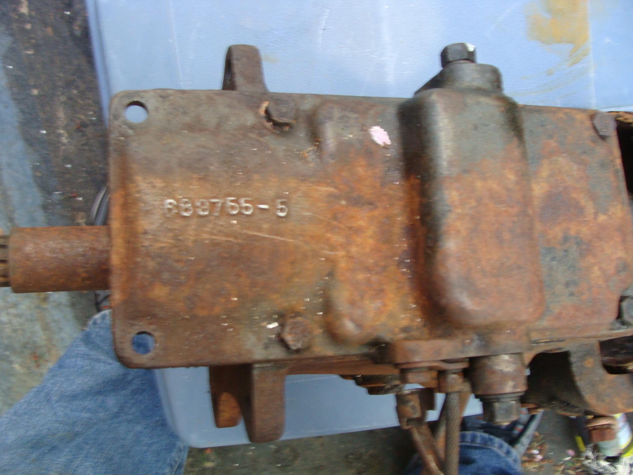 3 speed Dodge transmission 1939? - Parts For Sale - Antique