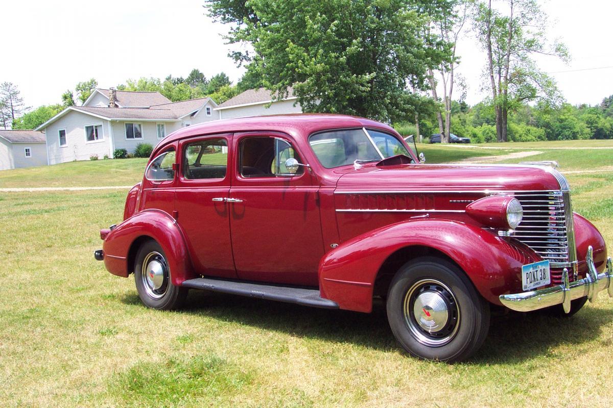 Sold 1938 Pontiac Touring Sedan Cars For Sale Antique