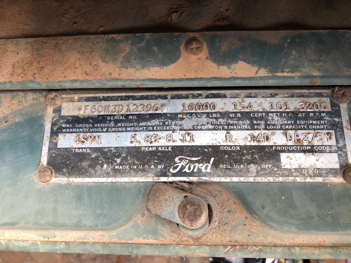 Please help identify this Lincoln Y-Block engine in my 1953