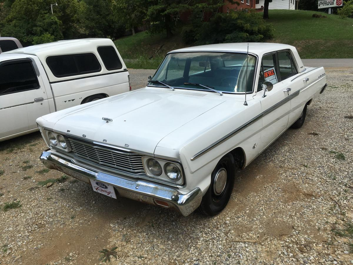 Seen On The Highway For Sale 65 Ford Fairlane 500 4 Door Sedan Automobiles And Parts Buy Sell Antique Automobile Club Of America Discussion Forums