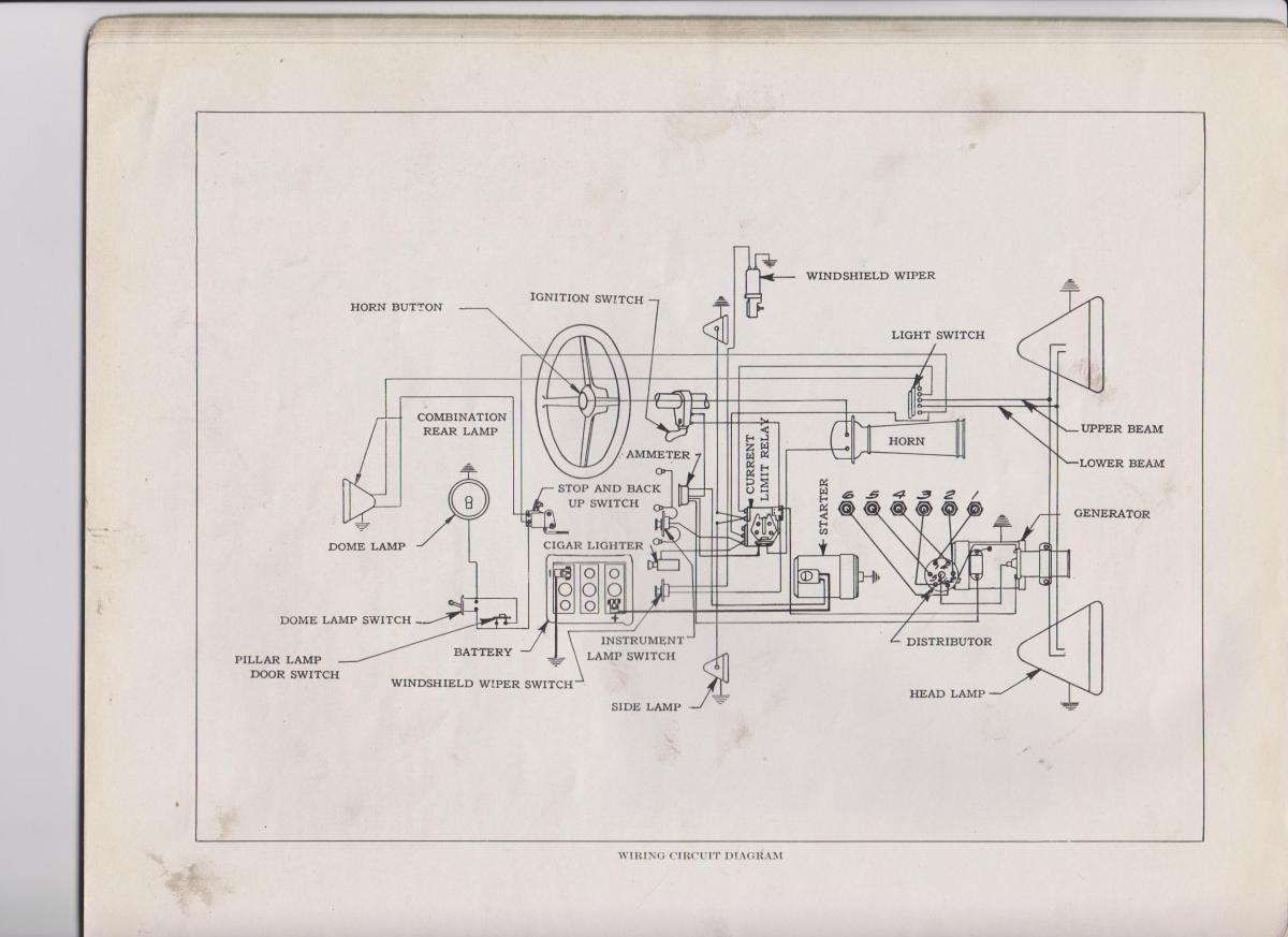 1929 Buick Battery Technical Antique Automobile Club Of America Wiring Diagram