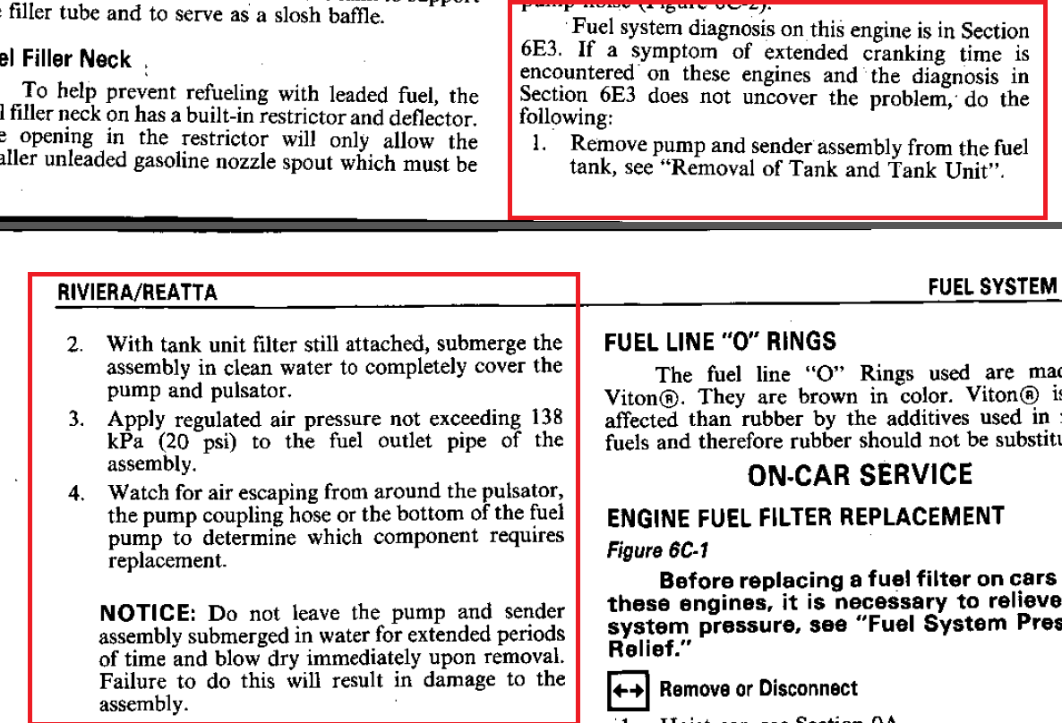 Minor issues after engine work - Page 2 - Buick Reatta