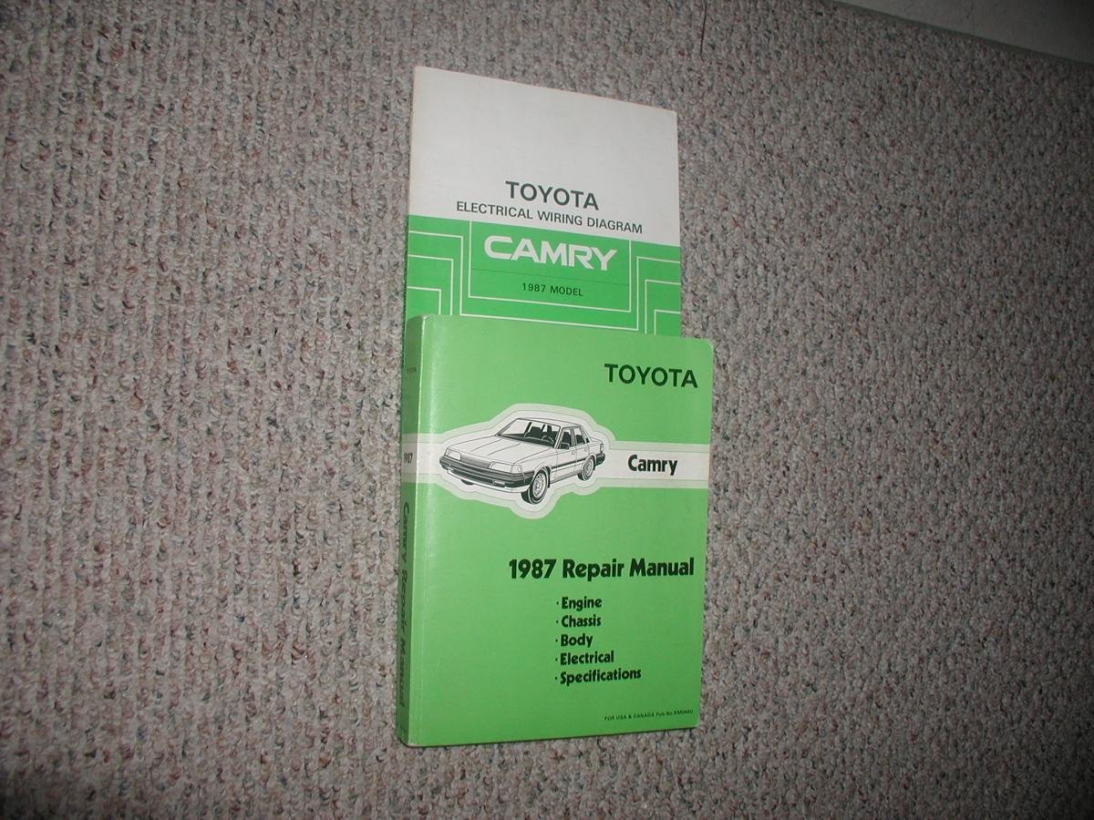 1987 Toyota Camry Repair Manual Set Japanese Datsun Wiring Diagram Edited September 8 By Bugs1455 See Edit History