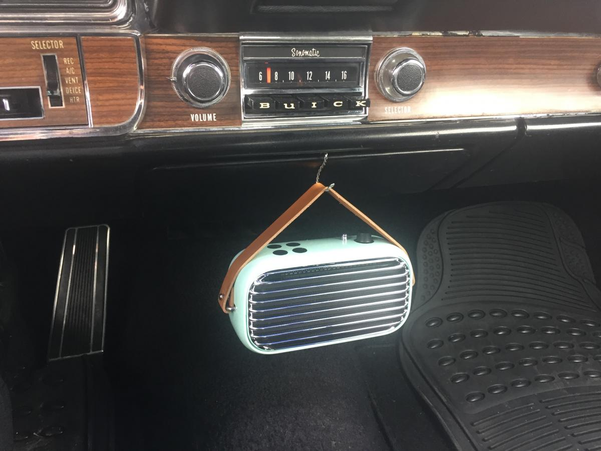 RetroSound radio and speaker install - 68 Riviera - Buick Riviera