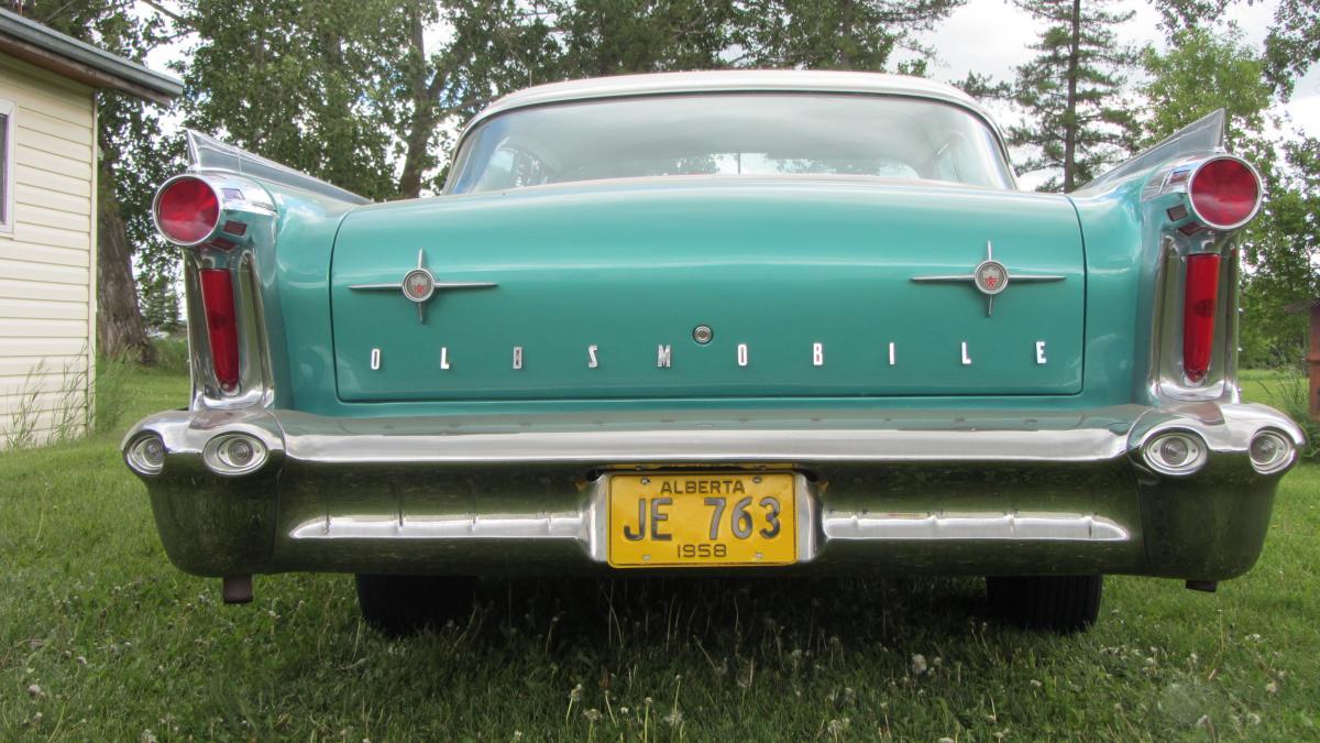 hard brake pedal 1955 olds w/power brakes - General