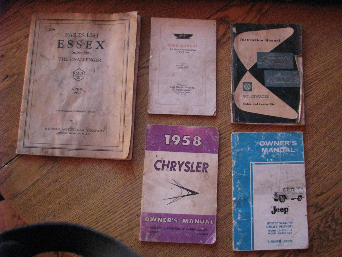 1930 Essex Super-Six Parts List - Hudson, Essex