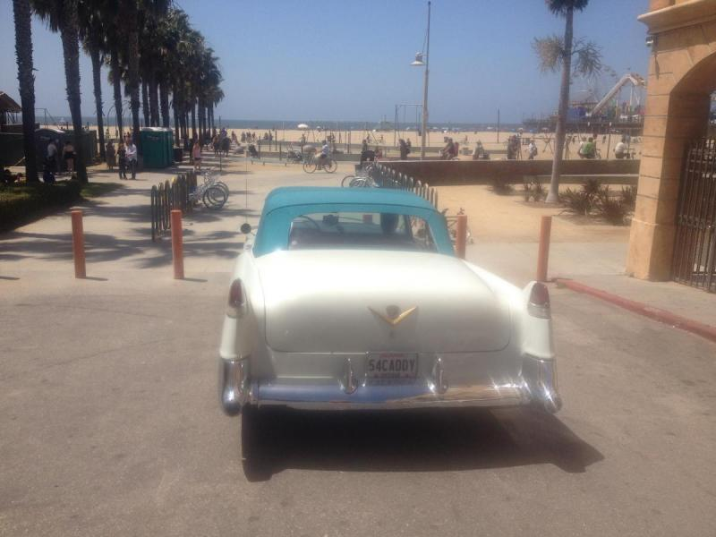 1954 Caddy at Santa Monica 2.JPG