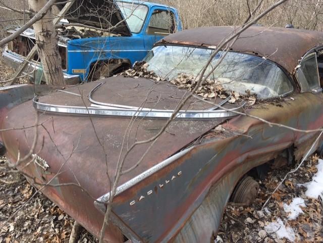 1958 Fleetwood 2 door parts car found - Cadillac & LaSalle - Antique