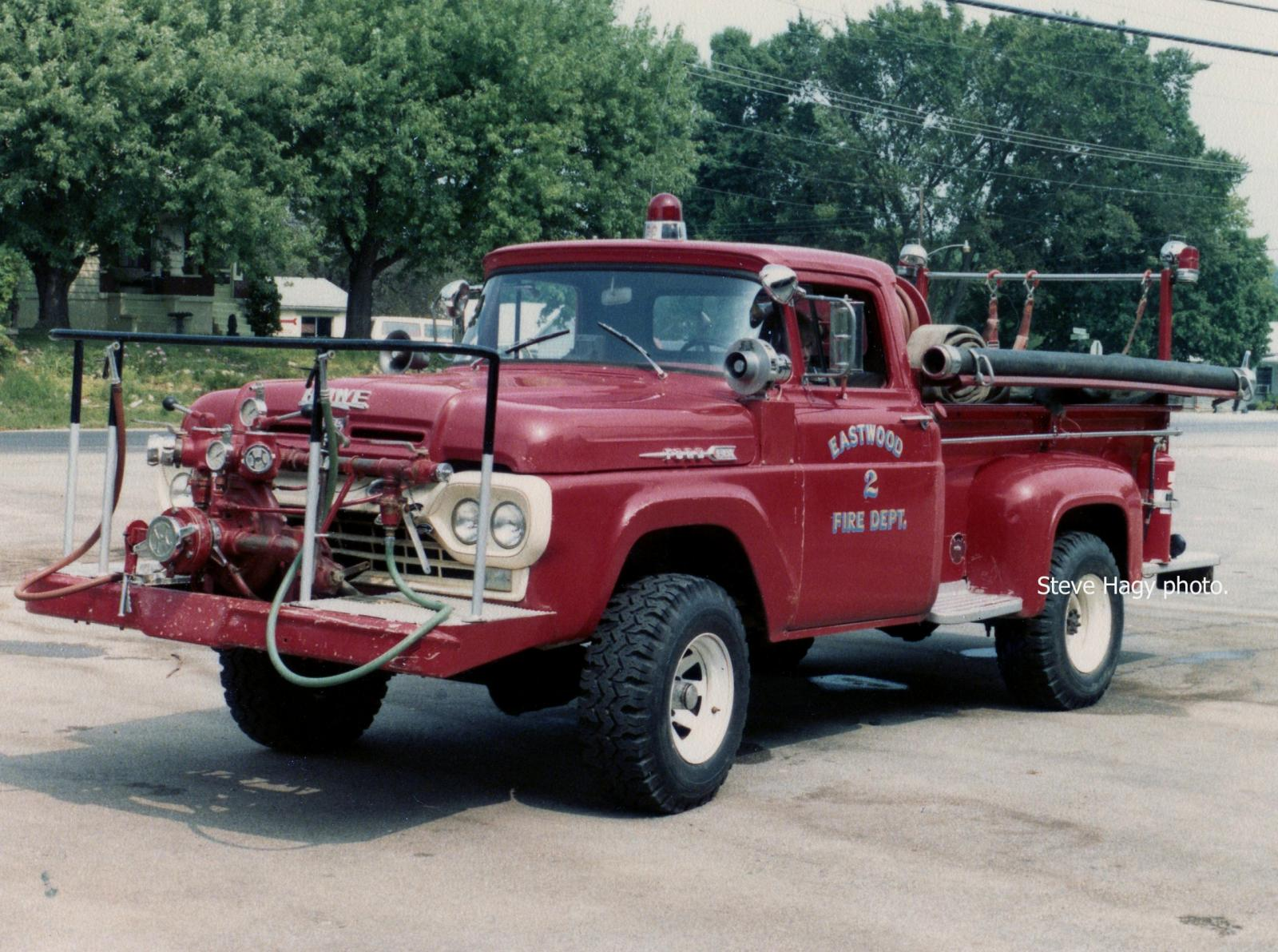 Eastwood KY - 1960 Ford/Howe Brush Engine