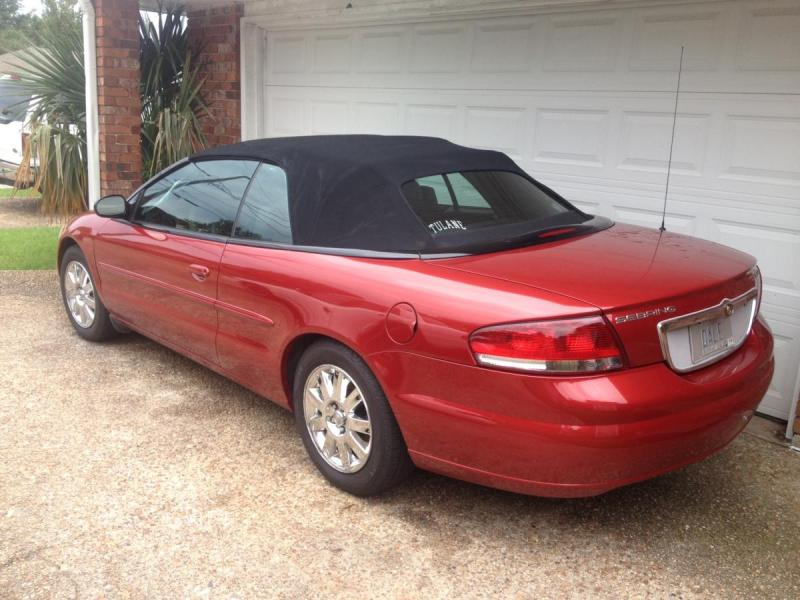 Picture Cars-12 2005 Chrysler Sebring Convertible rear.JPG