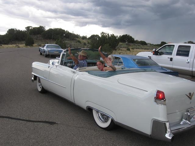 1954 Caddy - Taos New Mexice - Makes Waves Wherever it Goes.JPG