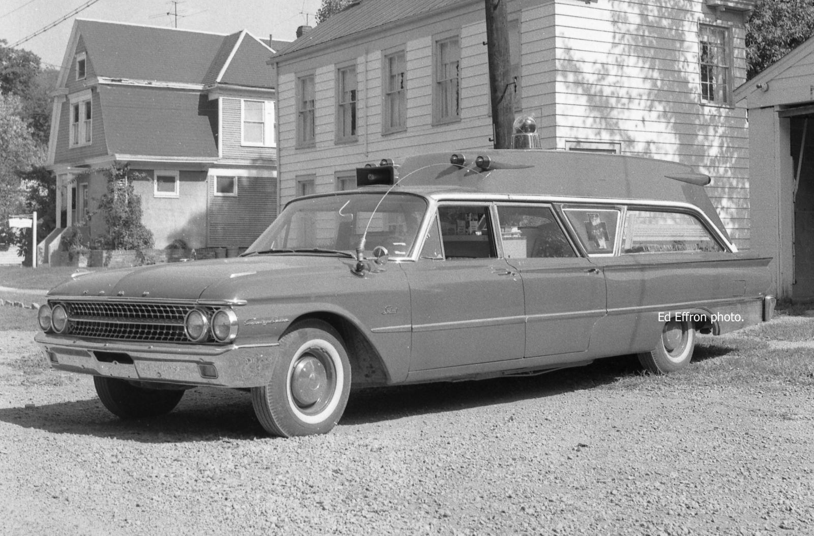 New Richmond Life Squad   1961 Ford Country Squire/Seibert Ambulance