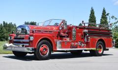 Hastings - on - Hudson NY   1964 Seagrave Fire Engine