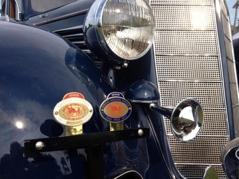 1934 Buick3 Badges Close.JPG