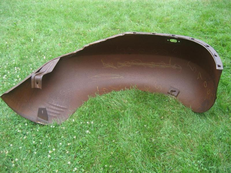 1930's 1940's Dodge Plymouth Truck NOS Front Fenders-4.JPG