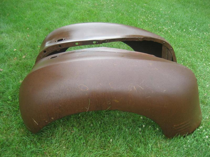 1930's 1940's Dodge Plymouth Truck NOS Front Fenders-2.JPG