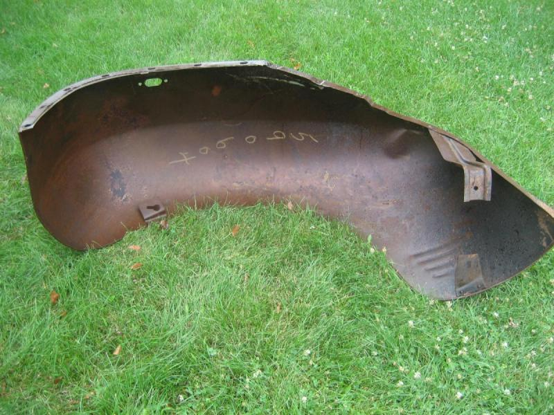 1930's 1940's Dodge Plymouth Truck NOS Front Fenders-5.JPG
