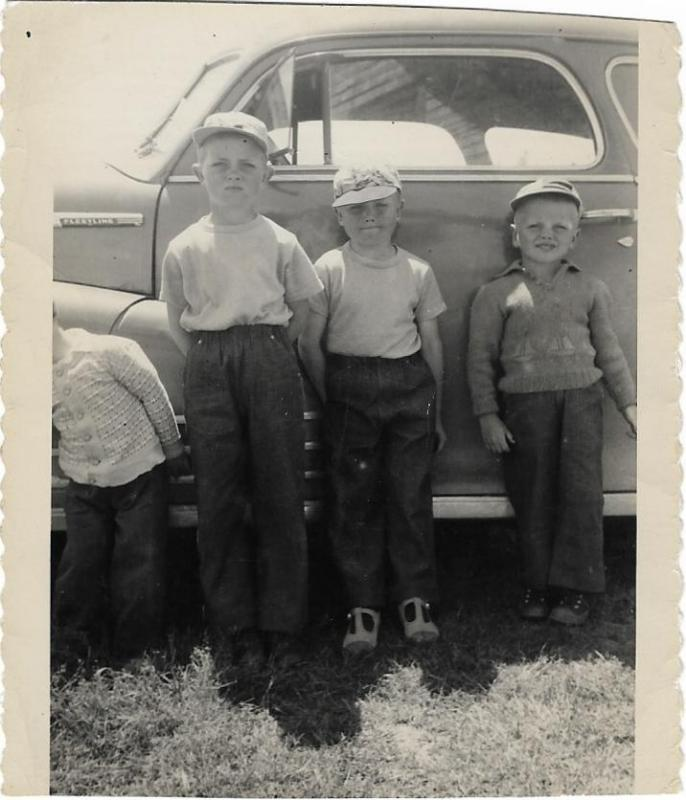 The three amigos circa 1951.jpg